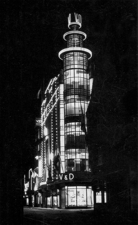 vroom en dreesmann eindhoven - Glazen V&D toren