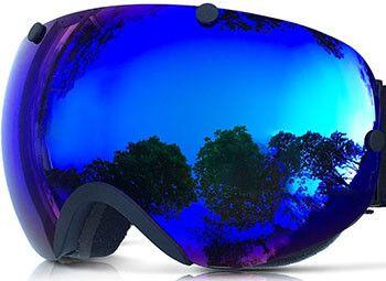 Zionor Professional Lagopus Snowmobile Snowboard Skate Ski Goggles
