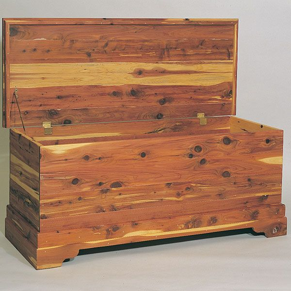 Cedar Wood Furniture Plans ~ Cedar chest plan no wood work pinterest