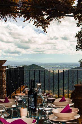 Toskana Ferienhaus mit Meer-Blick