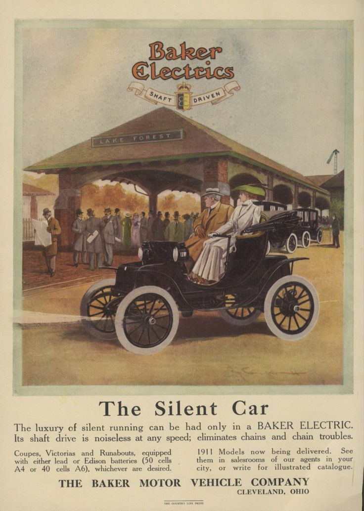 Best Vintage Baker Electric Cars Ads Images On Pinterest