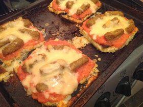 slimming world cauliflower pizzas