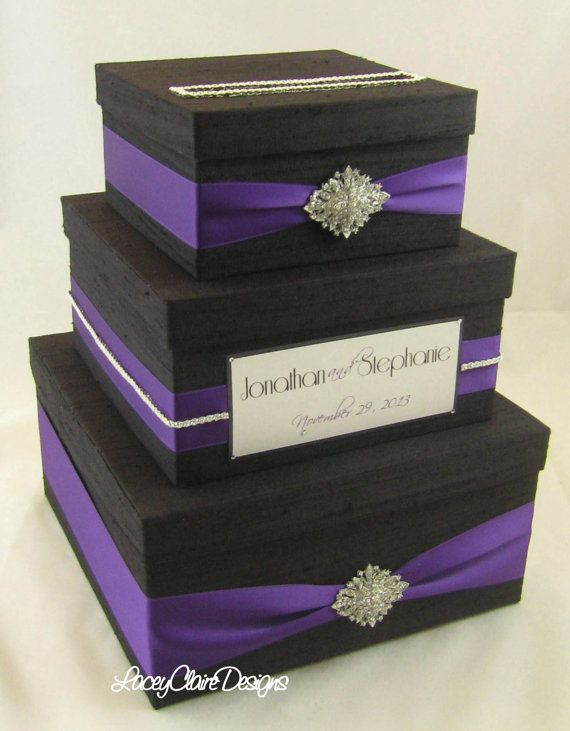 58 best Wedding card boxes images on Pinterest | Wedding cards ...