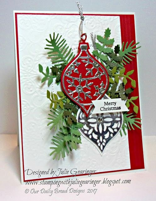 Stamping with Julie Gearinger: SC673 Merry Christmas