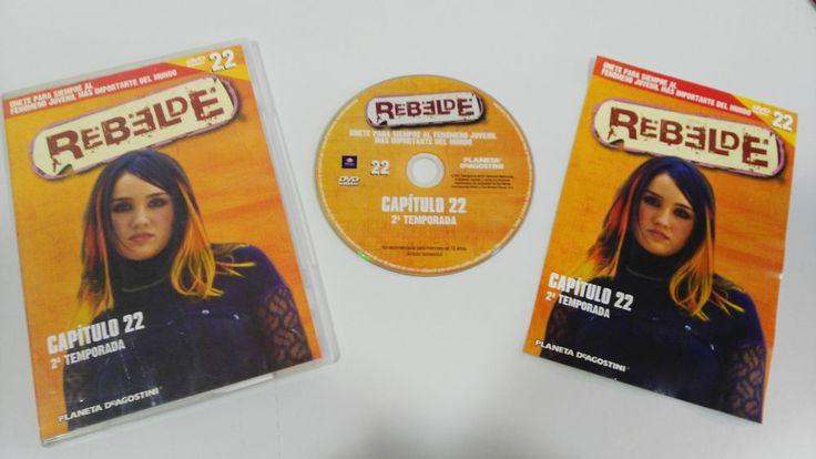 RBD - REBELDE TEMPORADA 2 CAPITULO 22 + EXTRAS DVD SPANISH EDITION UNICO EBAY!!!