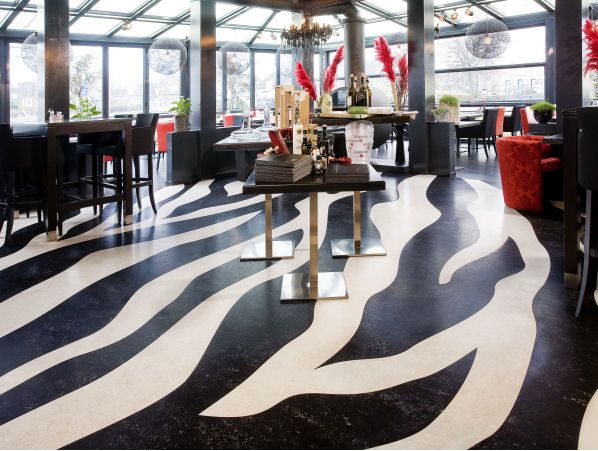 restaurant barolo bergambacht the netherlands marmoleum this project can be visited by