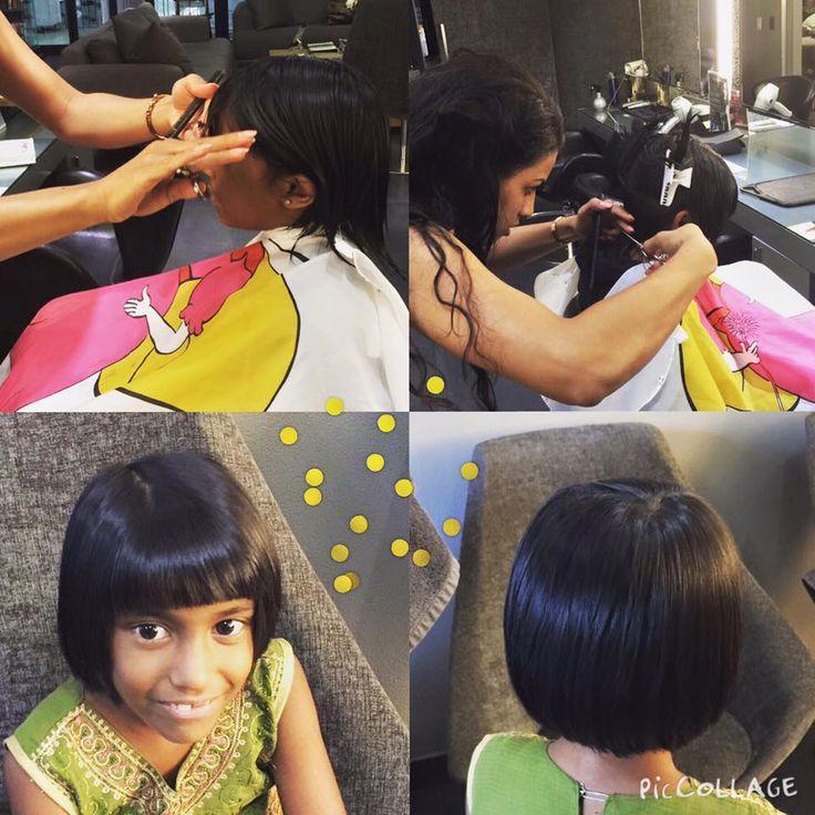 Kiddies bob haircut by Chantal at Midori