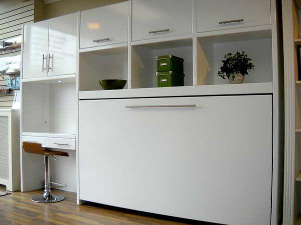 Best 25 murphy bed ikea ideas on pinterest diy murphy bed murphy bed bookcase and murphy beds - Ikea small spaces bedroom plan ...