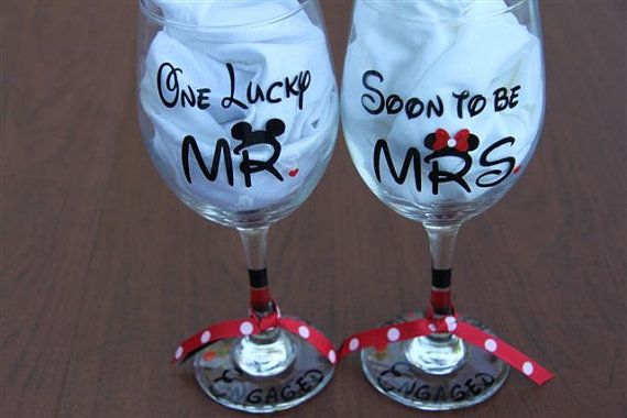 The Perfect Engagement Gift For The Disney Bride And Groom To Be!