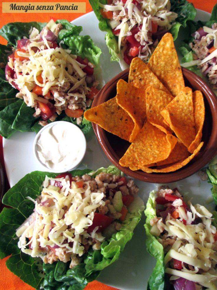 Tacos vegetariani di lattuga, Mangia senza Pancia