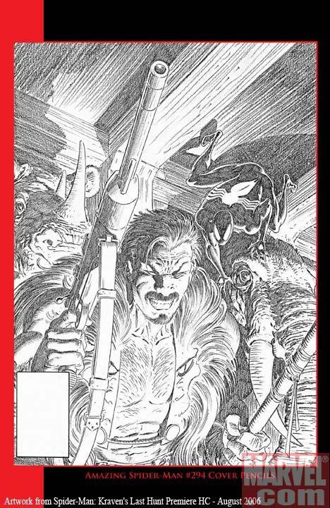 Spider-Man: Kraven's Last Hunt cover - Comic Art Community GALLERY OF COMIC ART