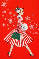 1950s/1960s Vintage Christmas Cards
