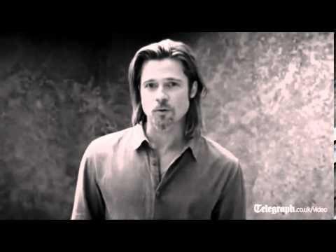 Brad Pitt In Chanel No 5 Advertising