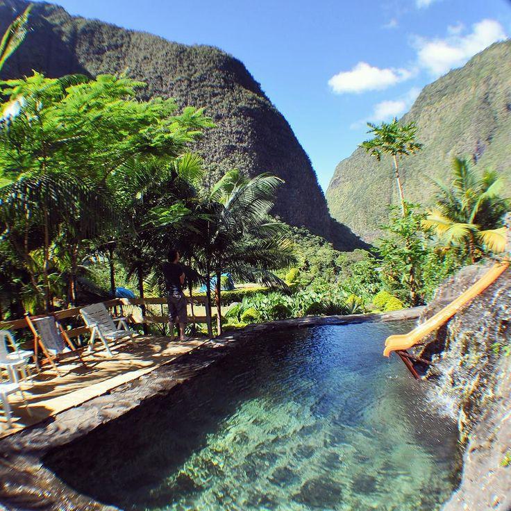 La #piscine de notre #îlot #paradisiaque  #gotoreunion by leloupdesbois
