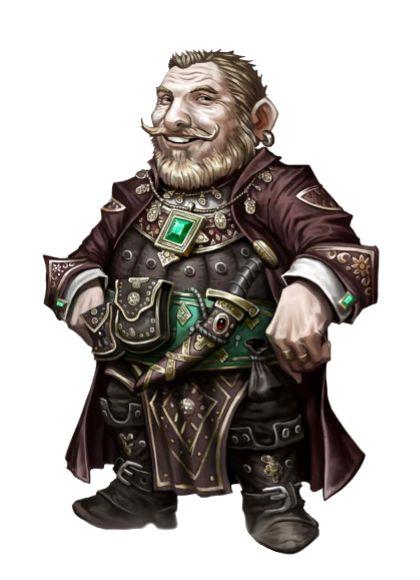 Male Dwarf Mesmerist - Obsik Shalehammer - Ironfang Invasion - Pathfinder PFRPG DND D&D d20 fantasy