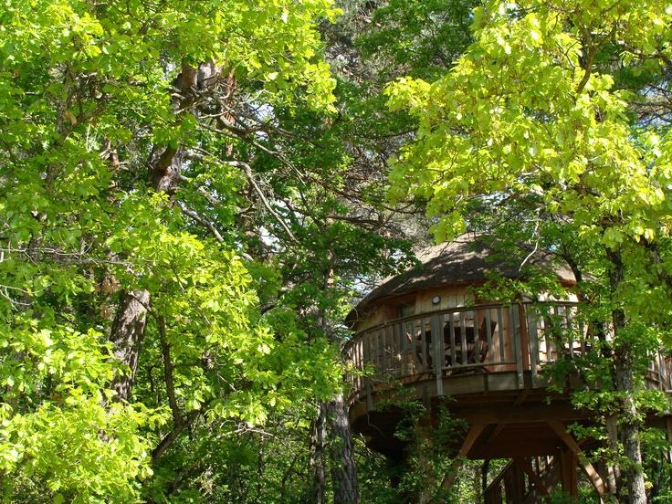 La Cachette et La Cabane de Lily au printemps