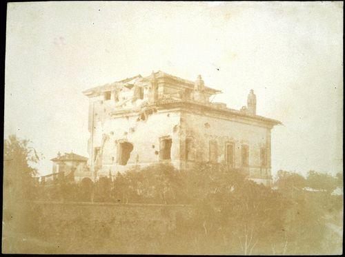 Villa Spada, veduta laterale [The Defence of Rome - la difesa di Roma, 37] 1849, Summer