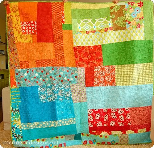 wow!: Picnics Quilts, Quilts Inspiration, Quilts Sewing, Fun Quilts, Deep Thoughts, Quilts Fun, Quilts Fabrics Sewing, Bright Colors, Modern Quilts
