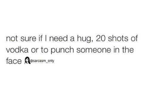 Image via We Heart It #funny #vodka #sarcasmonly