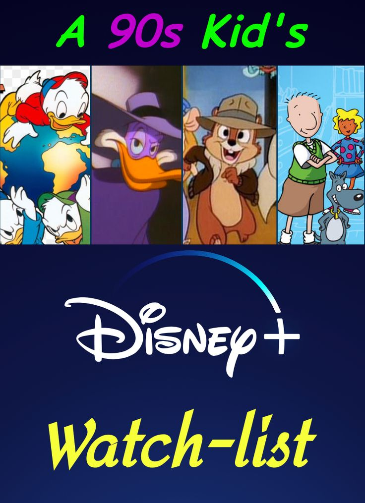 The Disney+ WatchList of a 90s Baby! Disney plus, Old