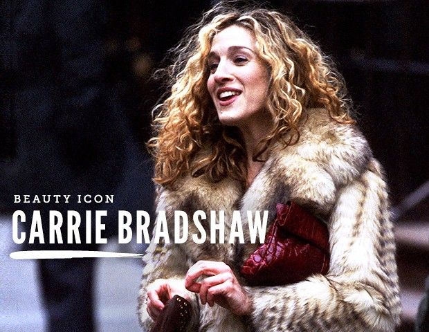 No one wore radiant skin and billowing curls quite like the Sex and the City character. Carrie Bradshaw.