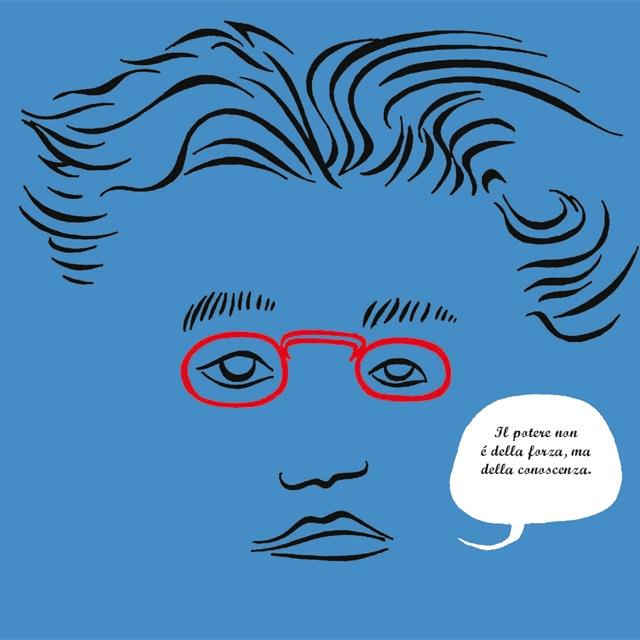 """""""Il potere non è della forza, ma della conoscenza"""" - Antonio Gramsci"""