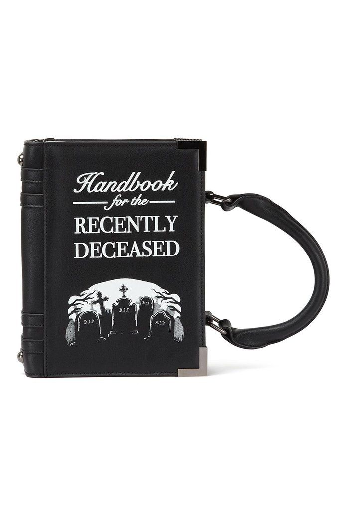 Dee Ceased Book Handbag [B]