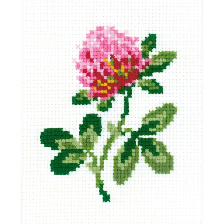 """Clover Counted Cross Stitch Kit-5""""X6.25"""" 10 Count                                                                                                                                                                                 More"""