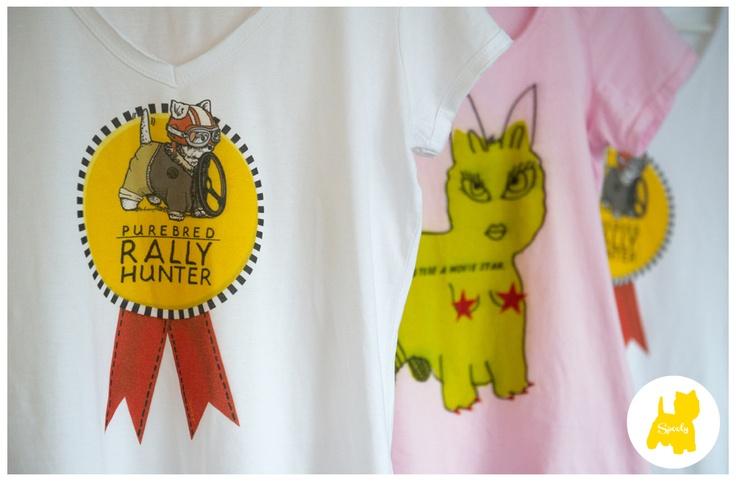 #Spooly #T-shirt Designed by Lsa Sturm © Vicky Lafazani