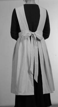 Styal Mill apron. See front here: http://www.waldorflibrary.org/images/stories/Journal_Articles/GW53apron.pdf. Edwardian apron pattern available for purchase here: http://sensibility.com/blog/patterns/ladies-edwardian-apron-pattern/