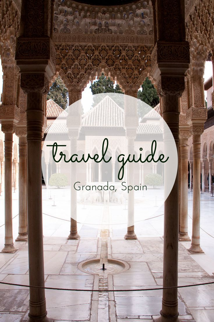 Travel Guide: visiting the Alhambra, Granada #travel #alhambra #granada #spain