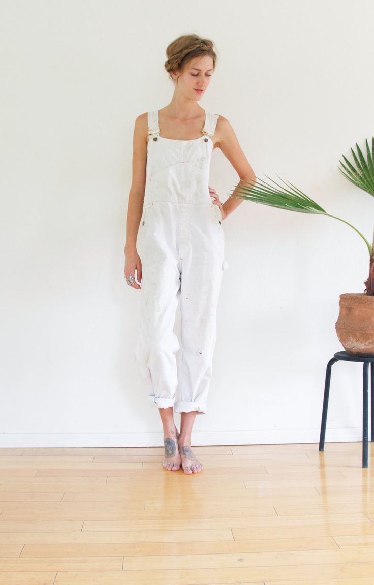 1960s Big Mac OVERALLS / WHITE PAINTERS Overalls by shopfuture on Etsy