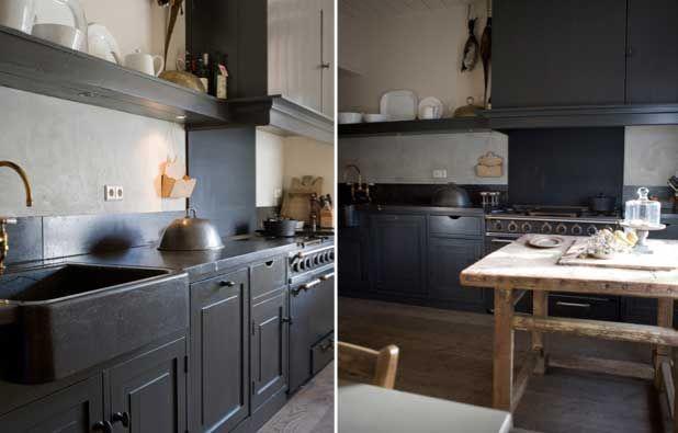 Wonen landelijke stijl keuken google search my cabin in the woods pinterest met search - Moderne keuken deco keuken ...