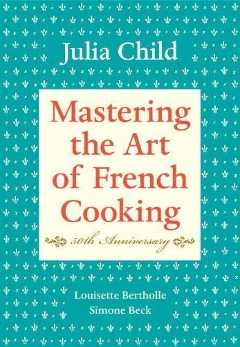 Mastering the art of French Cooking 50th Anniversary by Julia Child, http://www.amazon.com/dp/0375413405/ref=cm_sw_r_pi_dp_KW4Opb0RN0TAQ