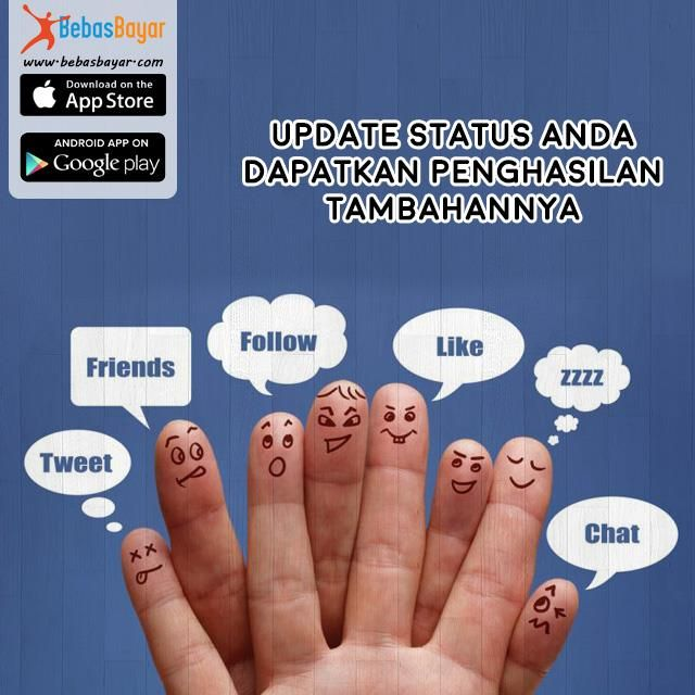 tahukah kamu kalau social mediamu berpotensi menghasilkan uang? yuk cari tahu caranya di Bebasbayar. Gratis!  http://goo.gl/xOnvox