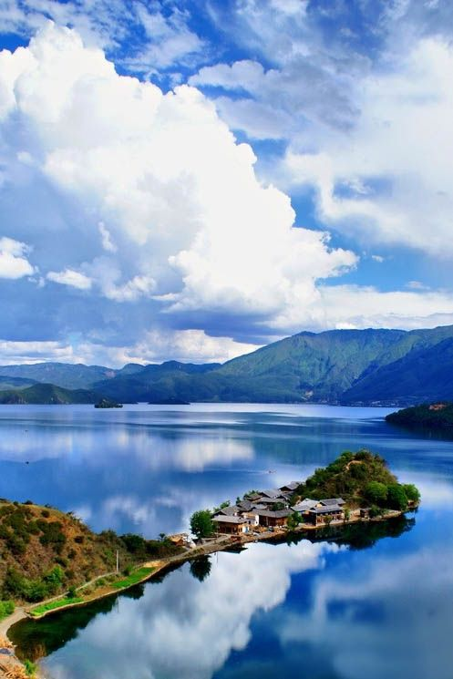 Lugu Lake, North West Yunnan, China