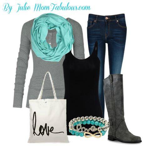 Cute Outfit Ideas of the Week – Edition #15 Fall Fashion Ideas! #fallfashion I love me a henley!