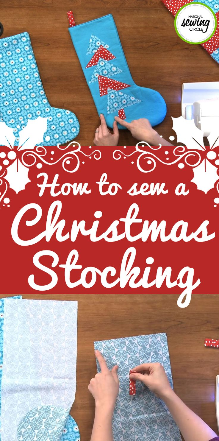 The most wonderful time of the year is right around the corner. Ellen March walks us through a fun, holiday project! Watch as she shows us how to make a Christmas stocking with a basic pattern, while also adding simple embellishments that can be used to make the stocking your own. Get started today on this festive Christmas project with this sewing tutorial.