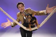 Diese Show wird Spaß machen: Zur DOGLIVE-Gala am Samstag, 18. Januar, um 19 Uhr im Messe und Congress Centrum Halle Münsterland werden mit Leonid Beljakov und Wolfgang Lauenburger zwei Größen der Hunde-Comedyszene erwartet. Bild: DOGLIVE