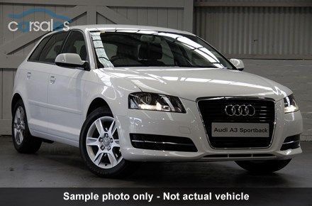 2011 Audi A3 8P TFSI Attraction MY11 S tronic