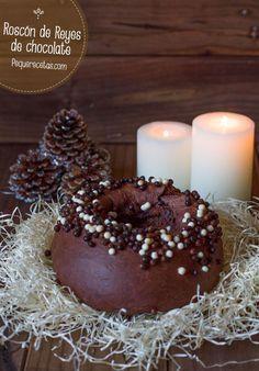 Roscón de Reyes de chocolate, ¡diferente y exquisito!