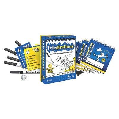 Telestrations Family Game,