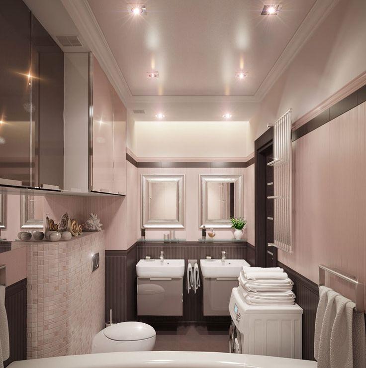Дизайн проект ванной комнаты | Заказать дизайн и ремонт ванной комнаты под ключ от Optima Decor
