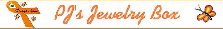 Multiple Sclerosis Awareness Jewelry!  Charitable donation included with most items.