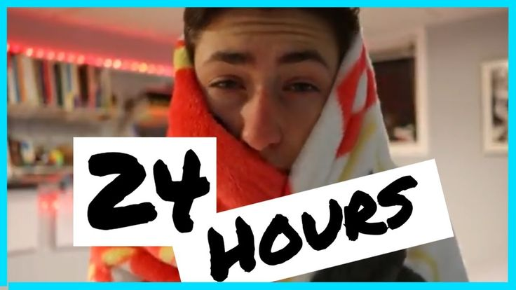 I did SCHOOL for 24 HOURS! (this is what happened)