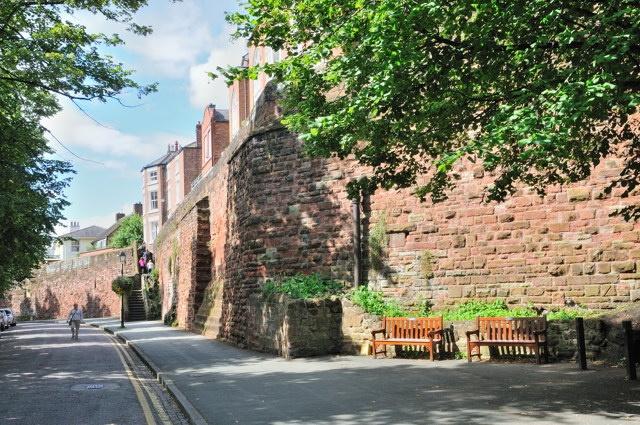 Chester, England - Roman walls