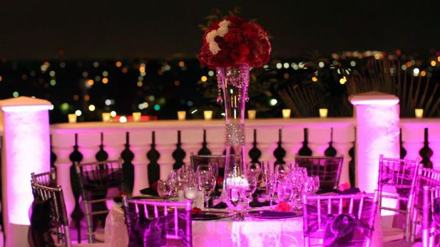 Wedding lighting tips from the event lighting experts at That's Fab Entertainment