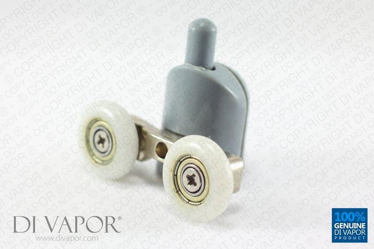 23mm Bottom Curved Shower Door Rollers