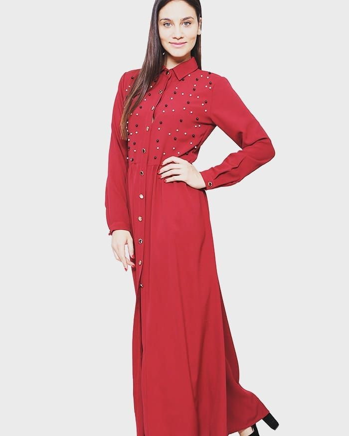 Elevate Your Look only 2490Send Message at www.capriccioshop.gr  #woman #women #red #pearls #elegant #editorial #motivation #dresses #dress #styleblogger #sales #collection #wardrobe #shop #loveshopping #fashion #girls #ladies #outfit #dresscode #fashionart #follow #simplicity #beauty #girly #classic #trend #color