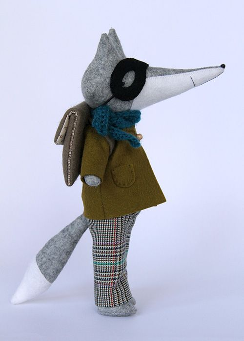 I am becoming obsessed with small figures.  what's happening?  Bart the Fox